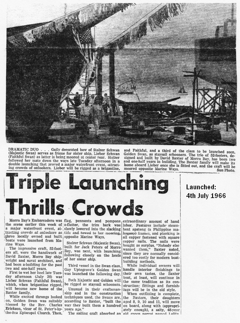 Triple           Launching Thrills Crowds